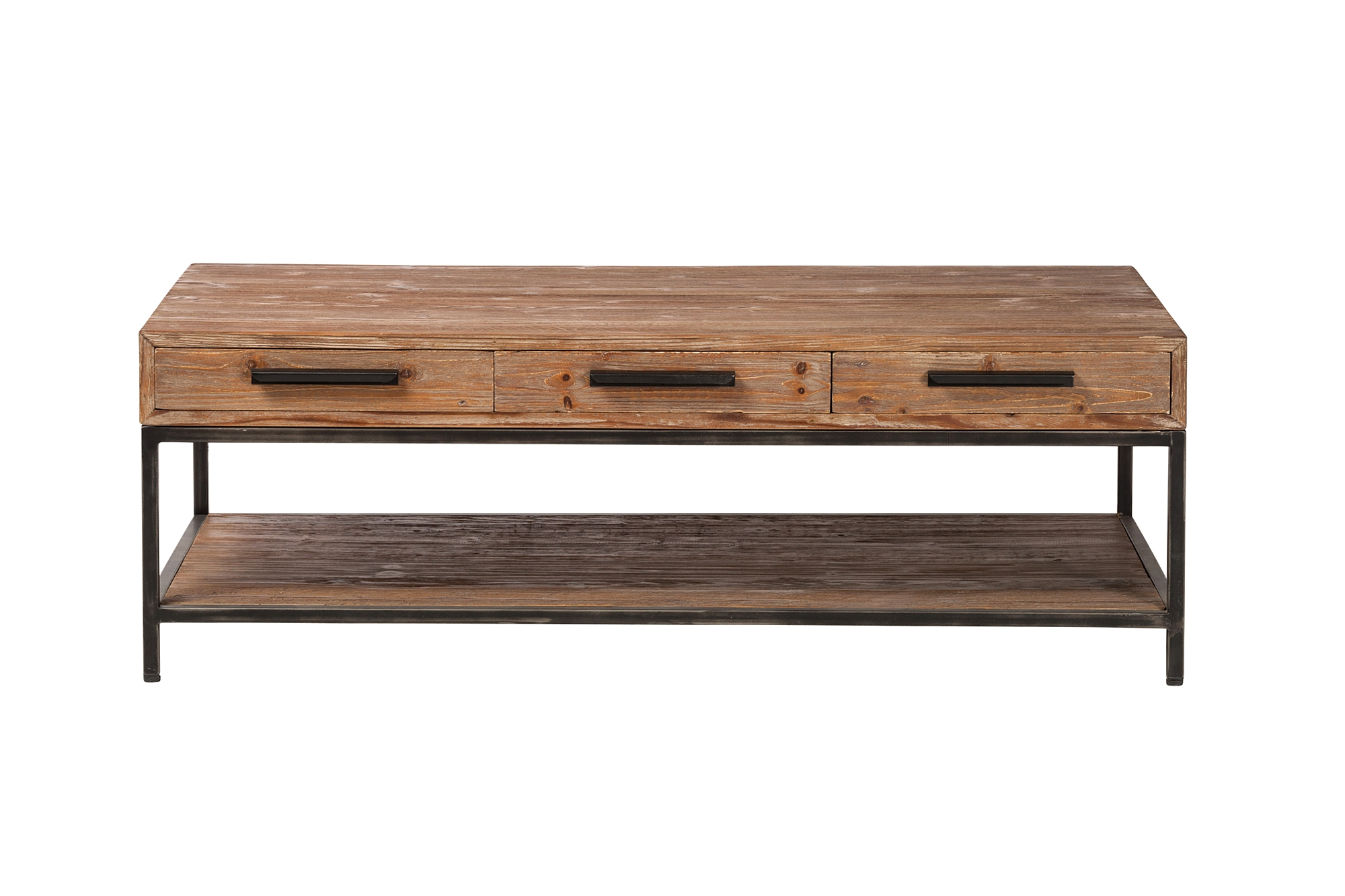 Elegant reclaimed 6 drawer coffee table the khazana home furnishings elegant reclaimed 6 drawer coffee table geotapseo Choice Image