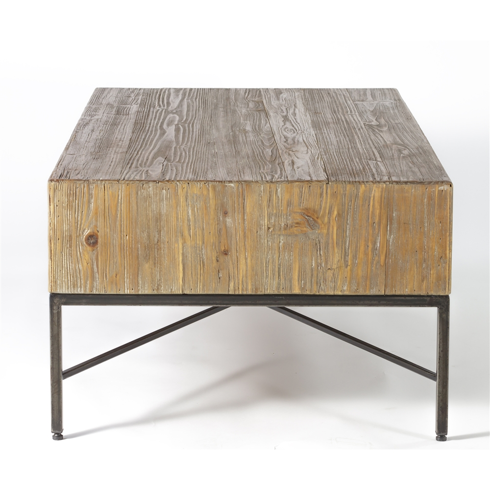 Angora reclaimed wood coffee table geotapseo Gallery