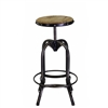 Angora Iron Base Bar Stool