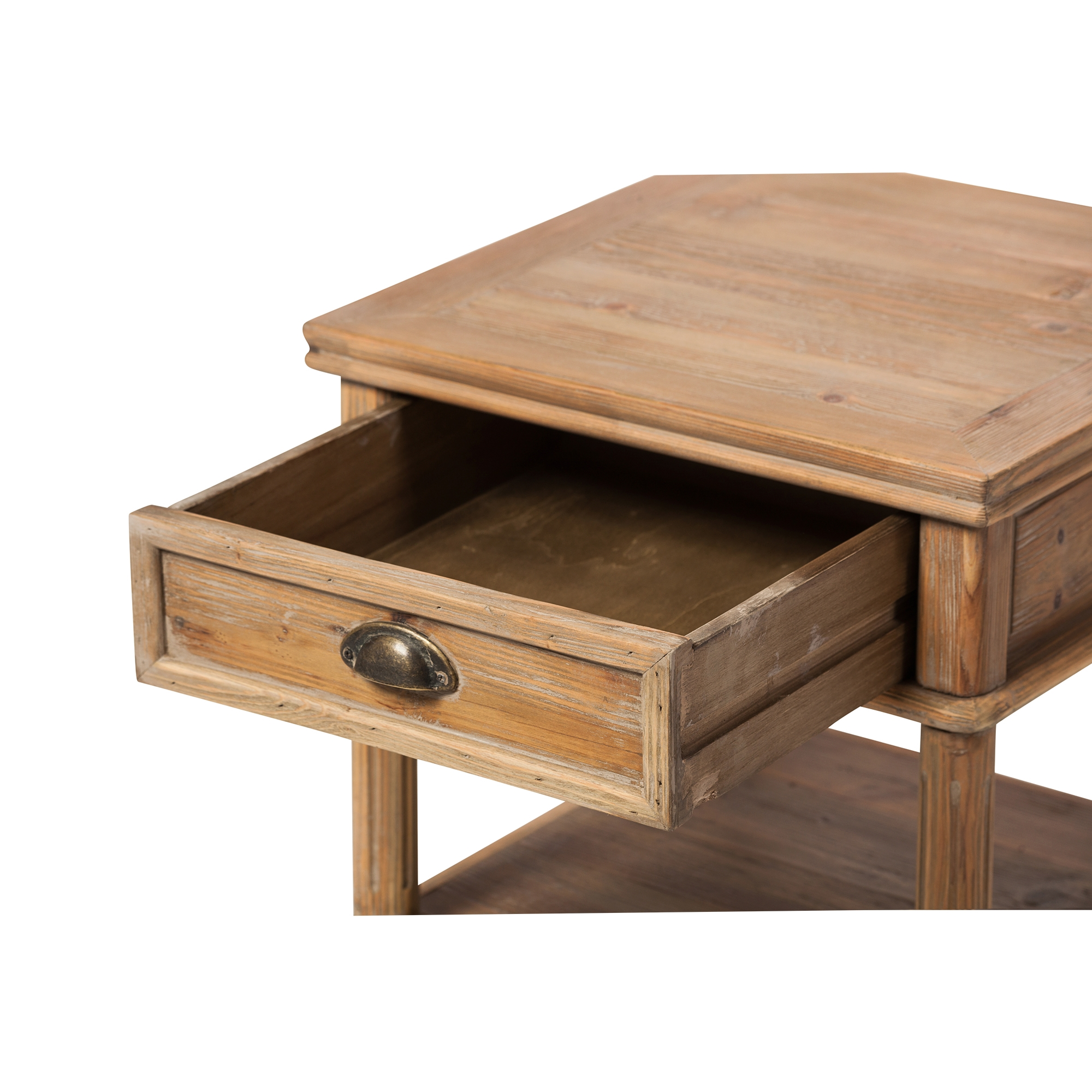 Rustic farmhouse end table for Farmhouse end table set