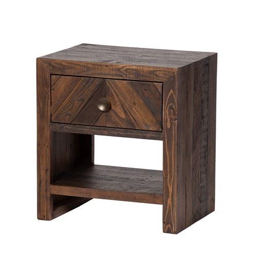 Vanya One Drawer Nightstand