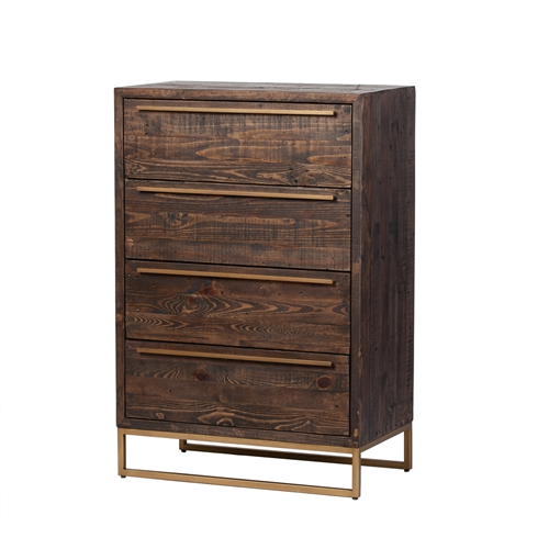 León Four Drawer Dresser - Toasted Cocoa
