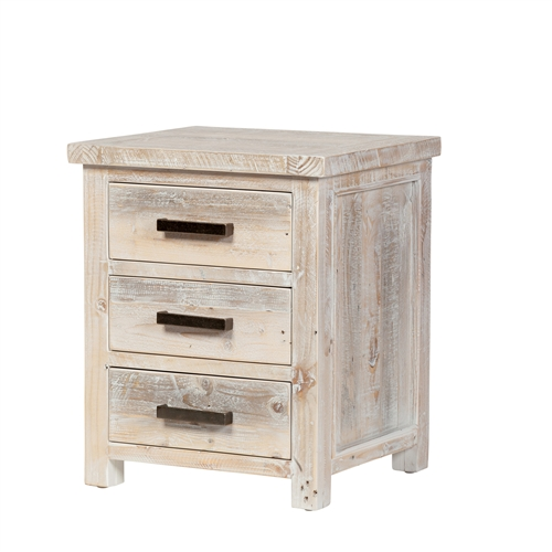 Fairfield Reclaimed Pine Bedside Table