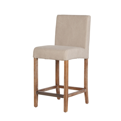 James Counter Stool in Beige