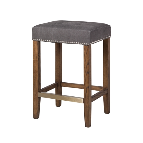 Ash Counter Stool in Frost Grey