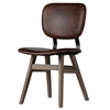 Sloan Side Chair in Vintage Brown Leather