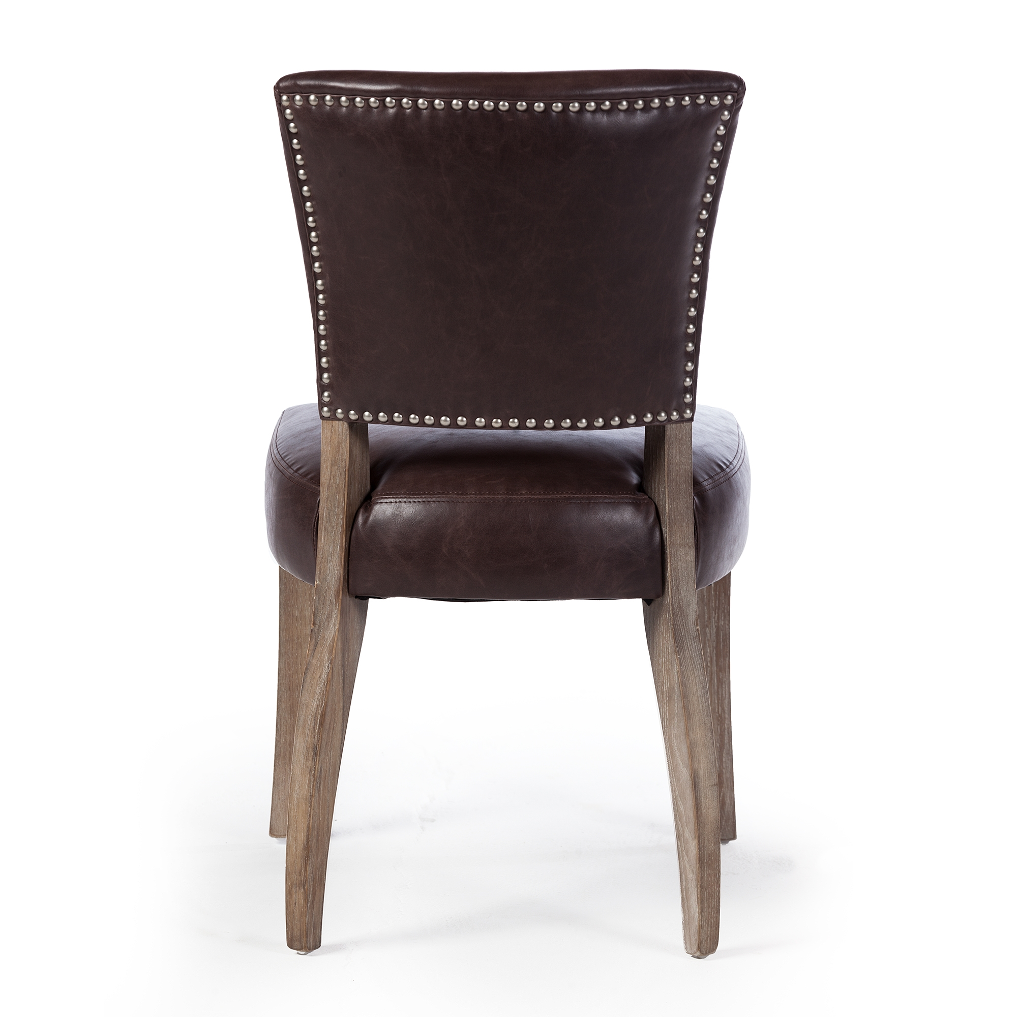 Adele Leather Side Chair ...