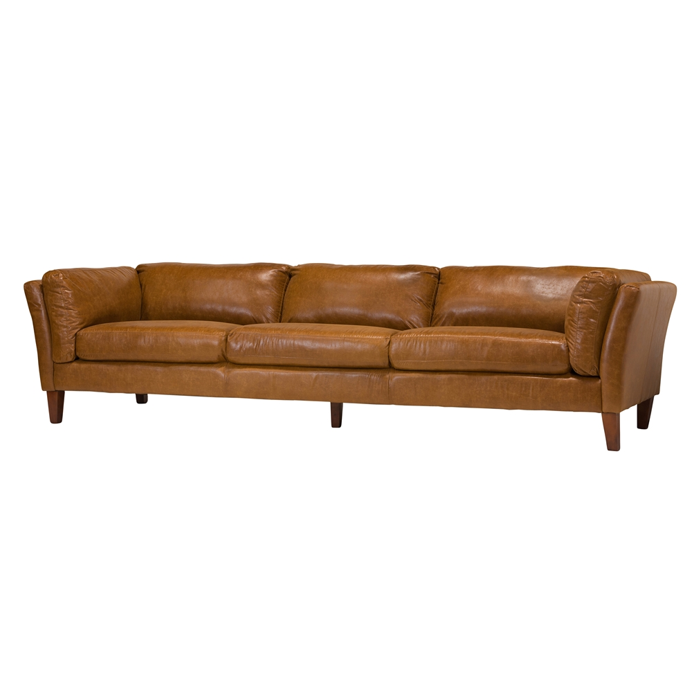 Dr 4 Seater Leather Sofa