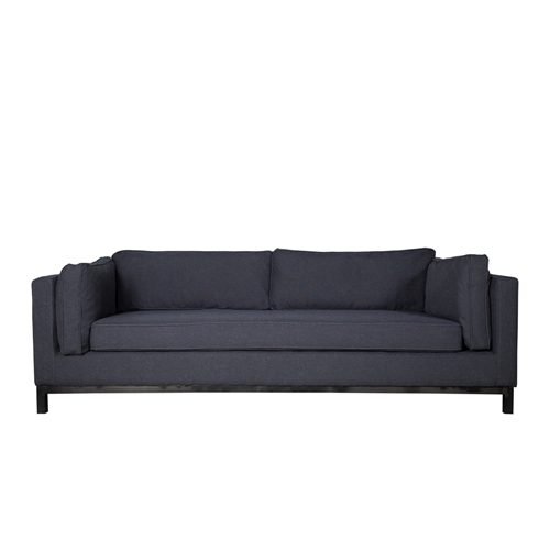Lexington Sofa in Charcoal Grey