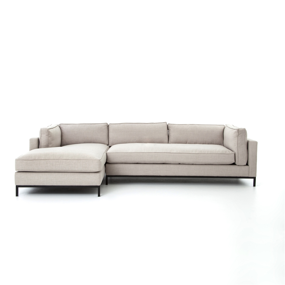 Atelier grammercy sectional the khazana home austin for Chaise style atelier