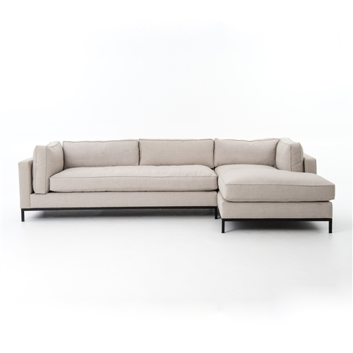 Atelier Grammercy 2 Piece Sectional Right Arm Chaise