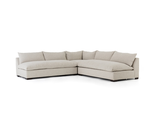Atelier Grant Sectional In Oatmeal