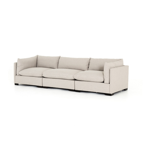 Four Hands, Westwood 3-Piece Sofa In Bennet Moon
