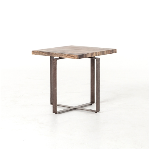 Wesson Brant Side Table in Spalted Primavera