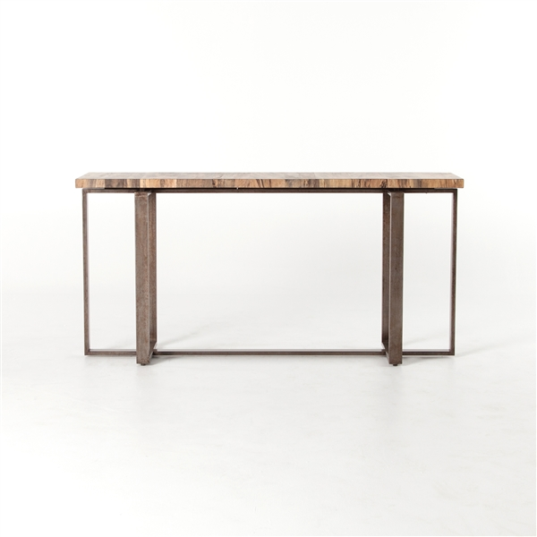 Wesson Brant Console Table in Spalted Primavera