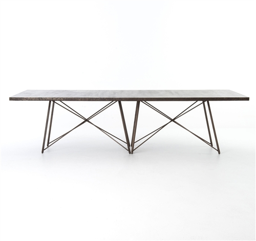 "Wesson Roman 114"" Dining Table"