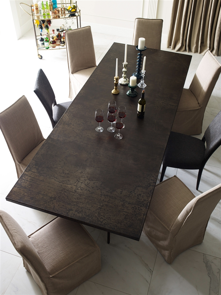 Wesson Roman Dining Khazana Home Austin Furniture Store - Dining room table for four