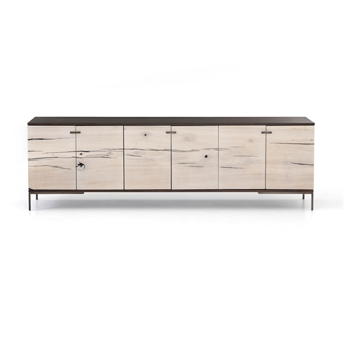 Cuzco Media Console, Black Ash, Four Hands Home