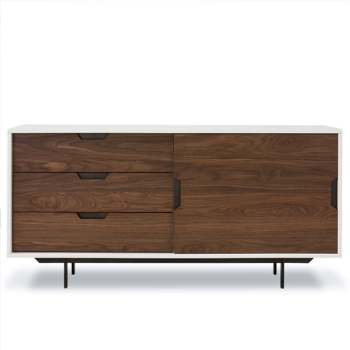 Barton Tucker Console With Sliding Door