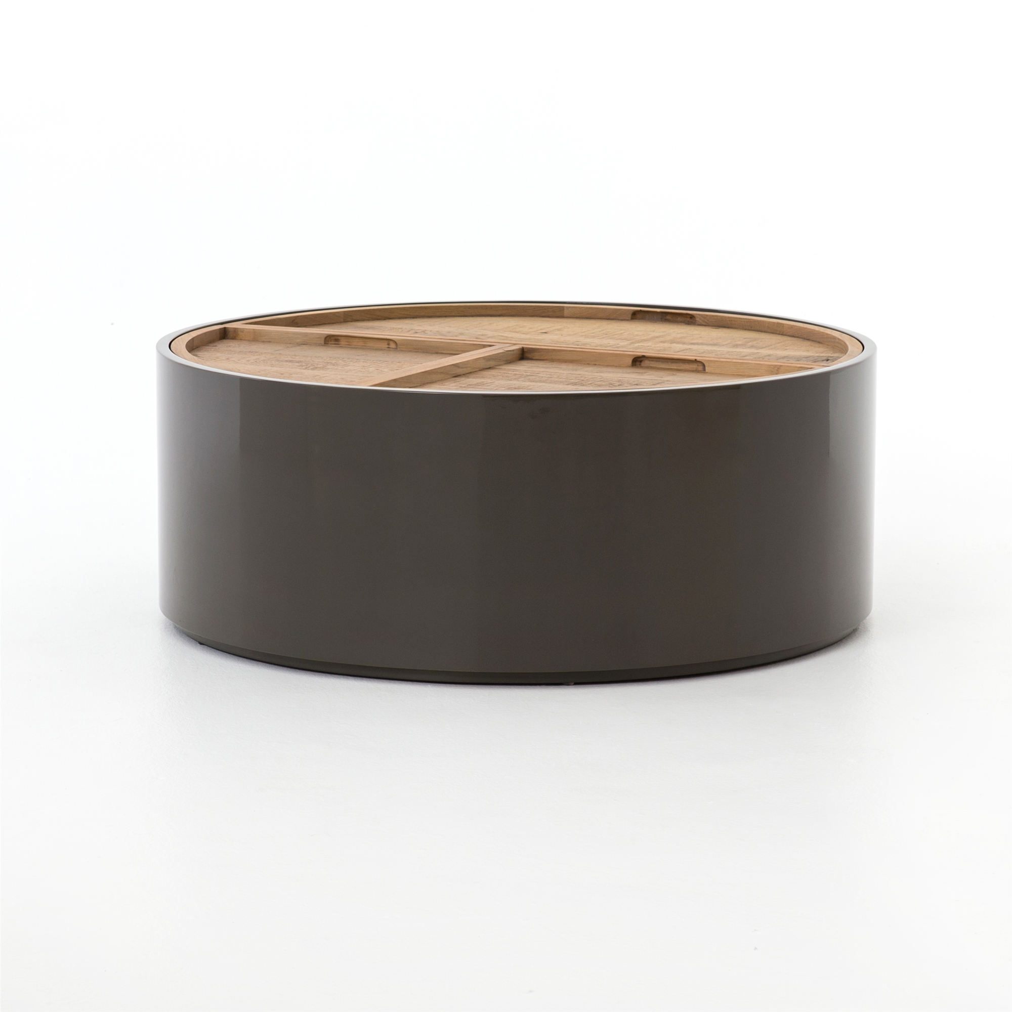 Barton Cas Drum Coffee Table