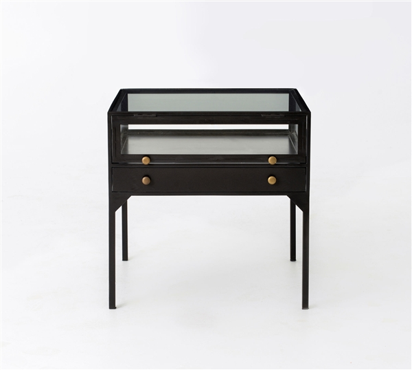 Belmont Shadow Box End Table