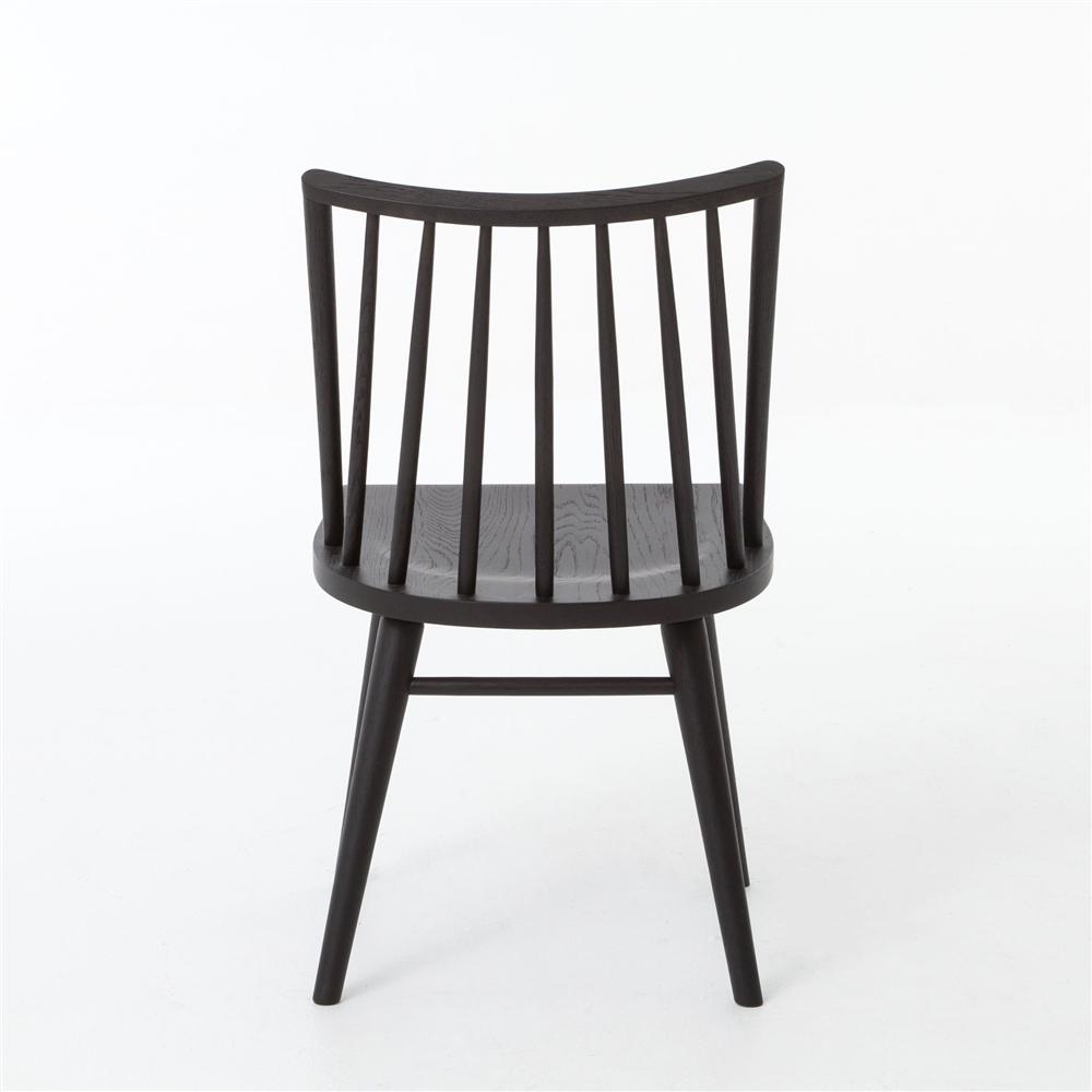 Belfast Lewis Windsor Dining Chair   Black Oak