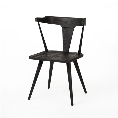 Belfast Ripley Dining Chair - Black Oak