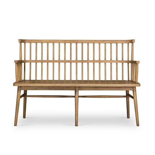 Aspen Bench in Sandy Oak