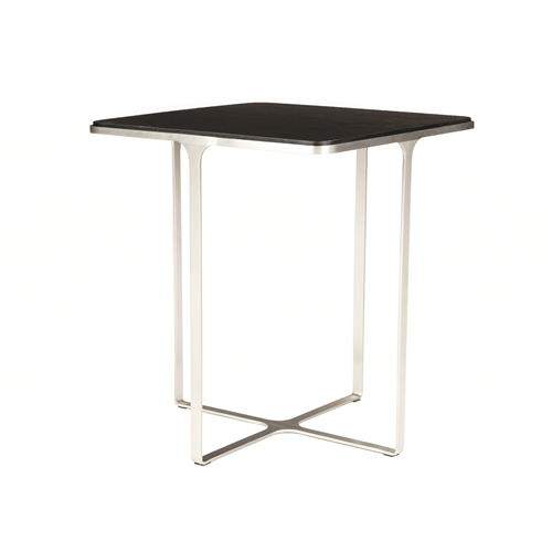 Derek End Table-Smoked Black Oak