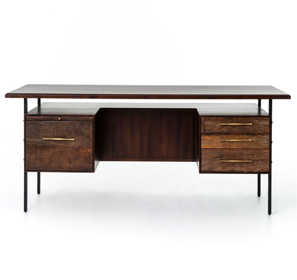 Bina Lauren Desk, The Khazana Home Austin Furniture Store