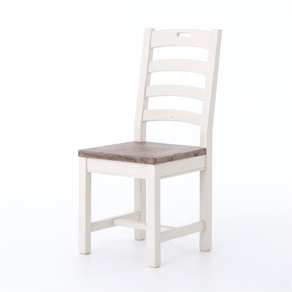 The ...  sc 1 st  The Khazana & Cornwall Ladder Back Dining Chair The Khazana Home Austin Furniture ...