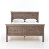 Cintra QTA Queen Bed in Rustic Sundried Ash