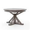 "Cintra Extension Dining Table 48"" Black Olive"