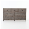 Caminito 7 Drawer Dresser in Black Olive