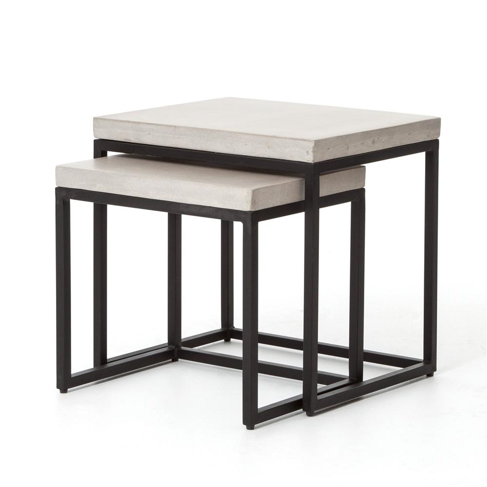 Maximus nesting tables the khazana home austin furniture store constantine maximus nesting side tables watchthetrailerfo