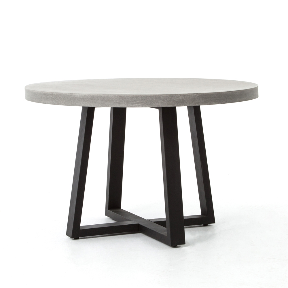 Constantine Cyrus 48 Round Dining Table The Khazana Home