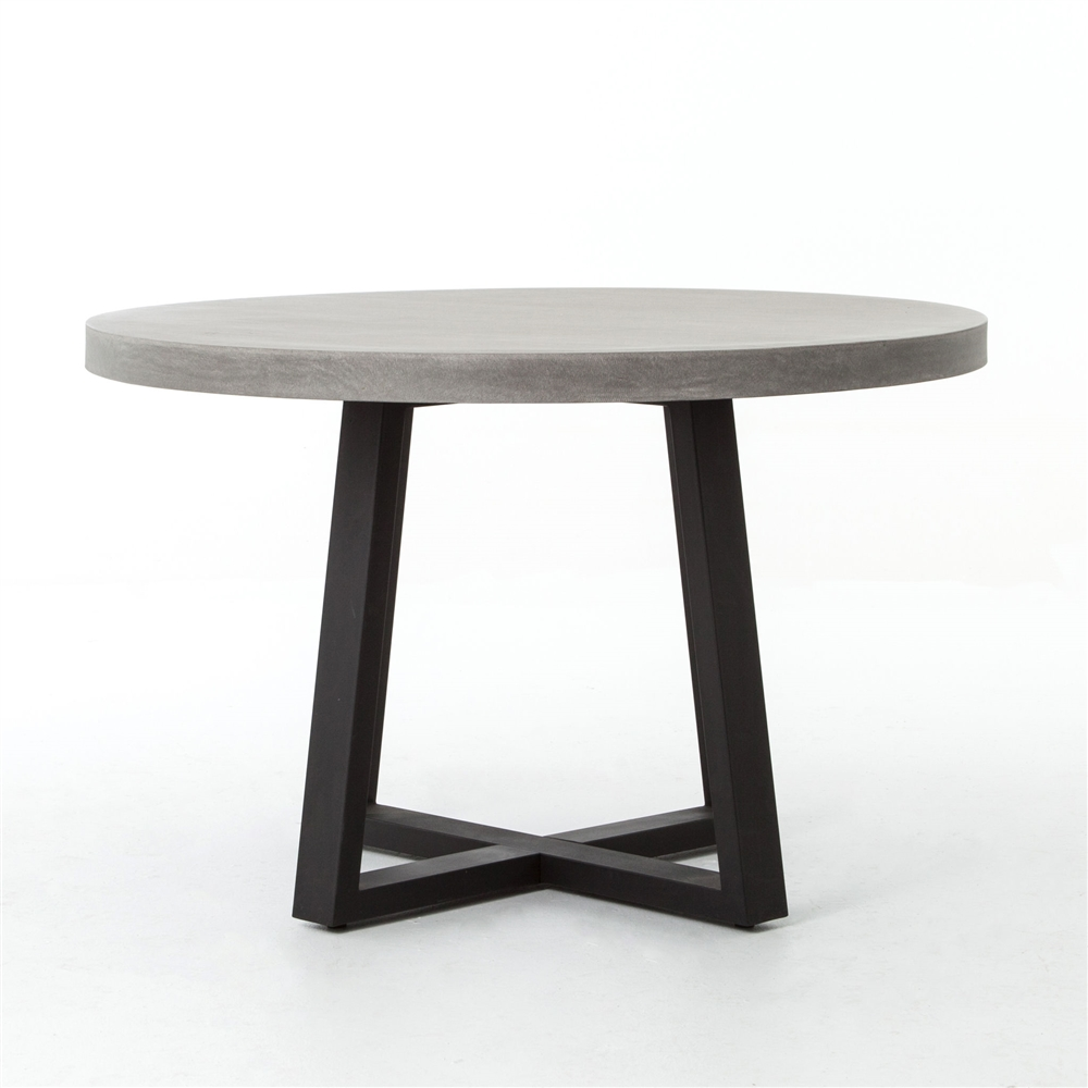 "Constantine Cyrus 48"" Round Dining Table The Khazana Home Austin"