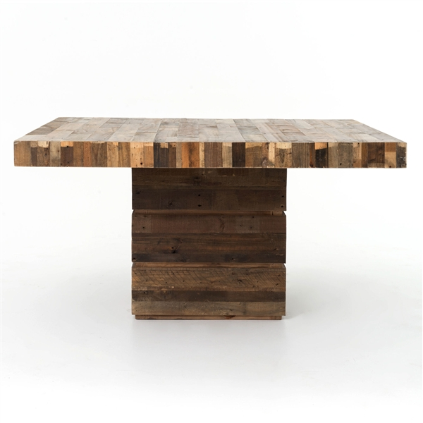 Four Hands SIerra Tahoe Square Dining Table
