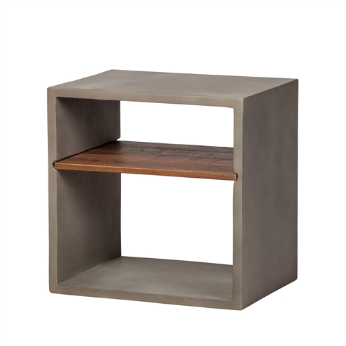 Paco Concrete End Table