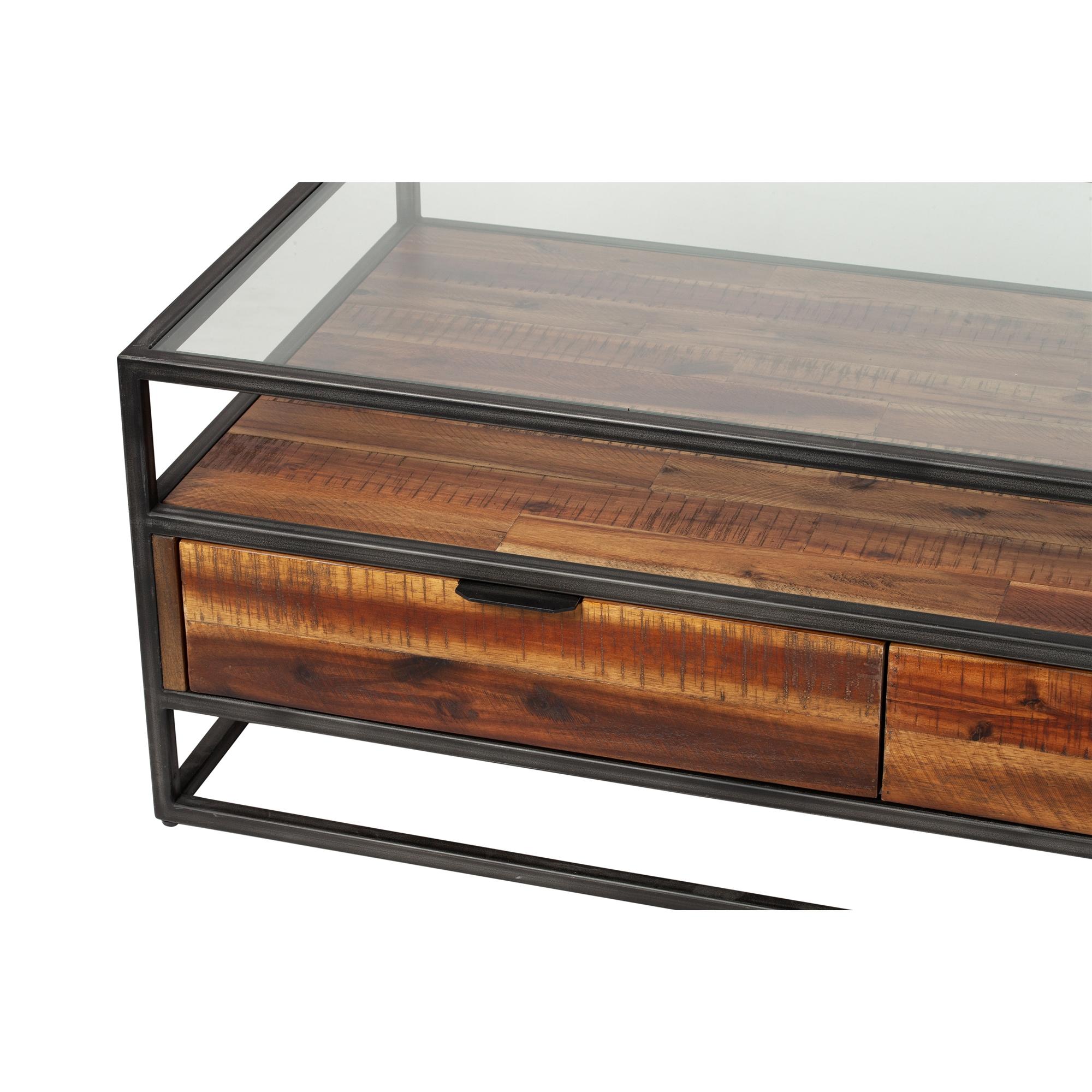 Hudson Shadow Box Coffee Table The Khazana Home Austin Furniture