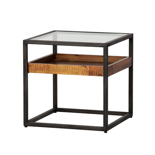 Hudson Shadow Box End Table