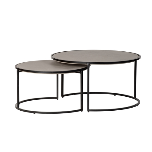 Kerr Concrete Nesting Coffee Tables
