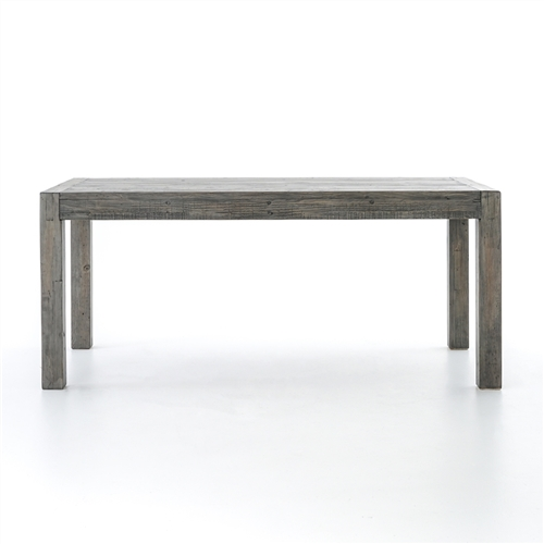 "Post & Rail Dining Table 71"" in Black Olive"