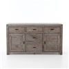 Post & Rail Sideboard in Black Olive