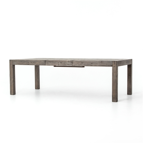 "Post & Rail Ext Dining Table 72"" in Black Olive"