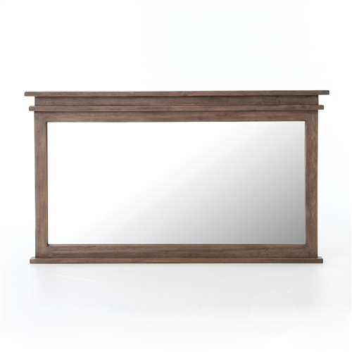 "Settler Mirror 61"" x 36"" in Sundried Ash"