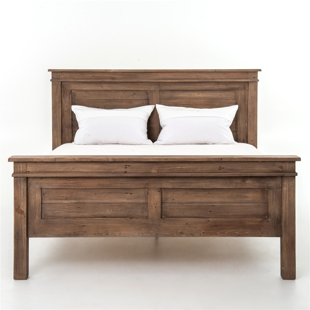 settler qta king platform bed