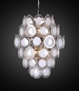 Design Tree Home Diva White Opal Chandelier