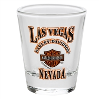 SHOTGLASS CLEAR LVHD B&S