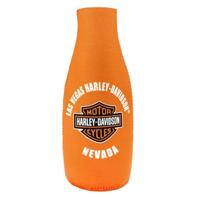 BOTTLE COOZIE-CUST LV B&S ORN